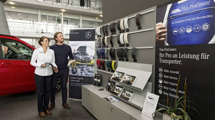 Seis años de Mercedes-Benz Van ProCenters Europa