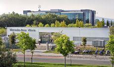 Factoría de Mercedes Benz en Vitoria.