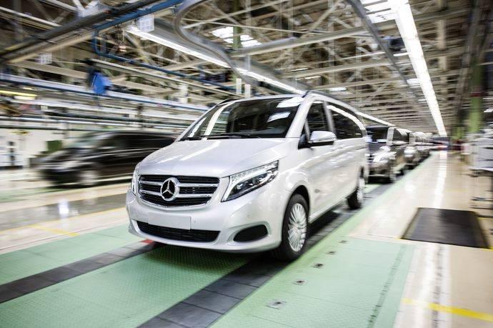 Primer trimestre, el mejor de la historia de Mercedes-Benz Vans