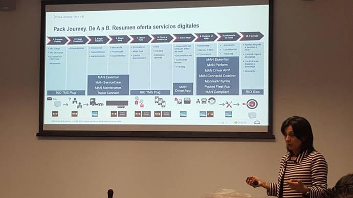 MAN Digital Services llega para facilitar el ejercicio del transporte por carretera