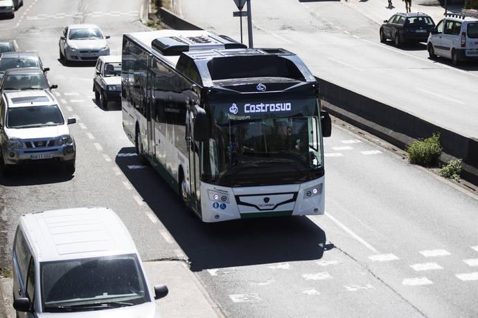 Apoyo de Castrosua a la movilidad sostenible en el transporte público