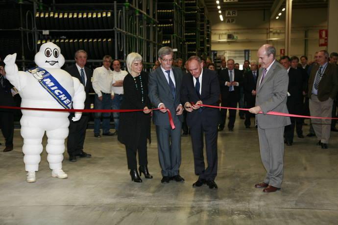 Michelin expande la capacidad del Centro Logístico de Araia, en Álava