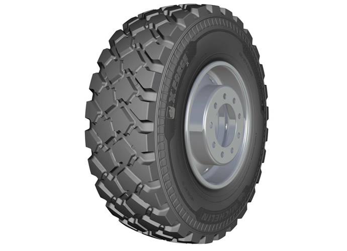 Michelin presenta su nuevo neumático para camión X FORCE ZL