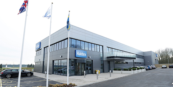 Sede central de Haldex.