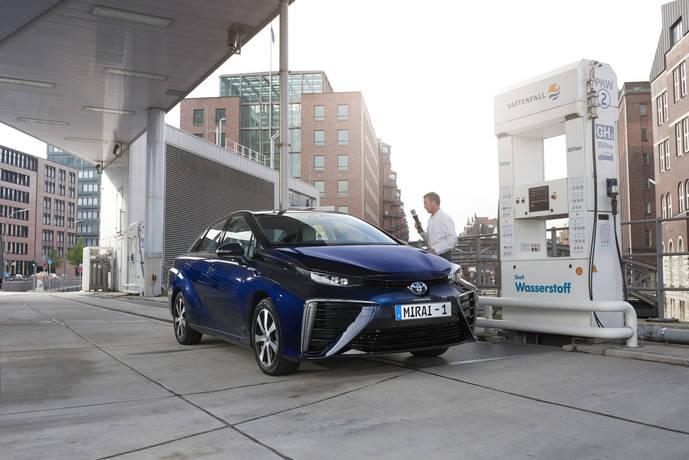 Toyota se une a Gasnam para desarrollar el hidrógeno