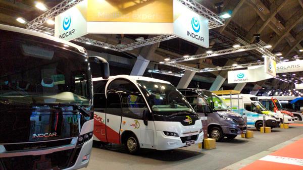 Indcar presenta todas sus novedades en Busworld 2019