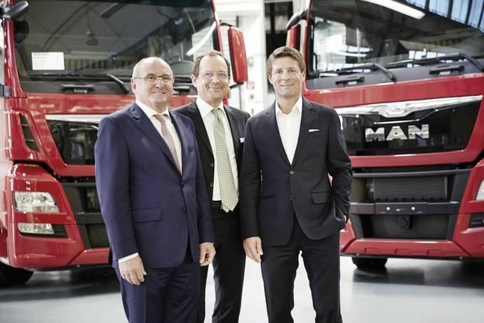 Gran pedido de 500 TGX para MAN en Austria