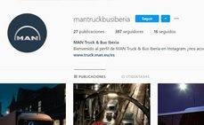 MAN Truck & Bus Iberia aterriza en Instagram