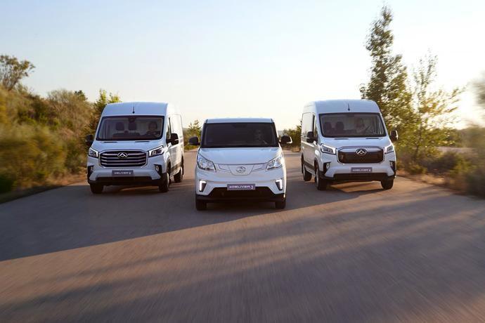 Las furgonetas eléctricas Maxus llegan a los concesionarios españoles desde 24.381€
