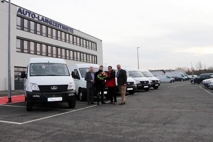 Maxus entrega sus furgonetas eléctricas en Europa