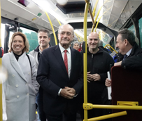 Málaga renueva la flota con 10 megabuses