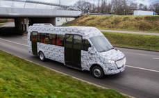 Mercedes Benz presenta nuevos minibuses