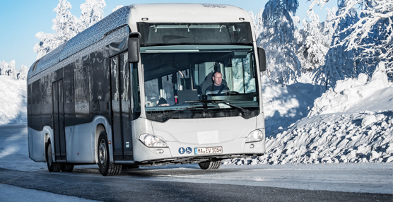 Citaro, el autobús de Mercedes-Benz con propulsión eléctrica integral