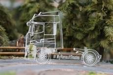 Miniatura de metacrilato Renault Truck T.