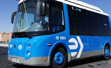 Microbús eléctrico Wolta ganador del concurso de EMT