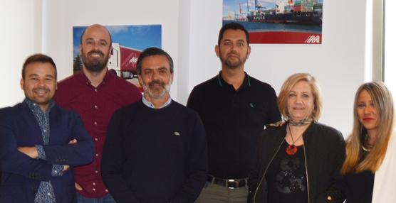 La delegación del Grupo Moldtrans en Las Palmas cumple cinco años