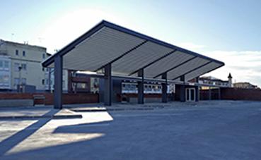 Se abre la nueva estación de autobuses de Mollerussa