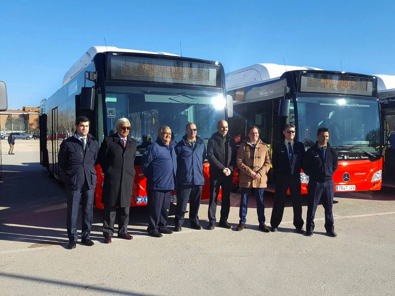 Monbus apuesta por los autobuses de gas natural para for Autobuses alcala de henares