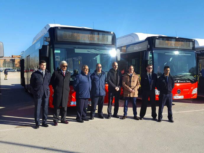 Monbus apuesta por los autobuses de Gas Natural para Alcalá de Henares