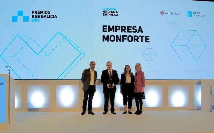 Monbus, premio Galicia 2019 de responsabilidad social empresarial