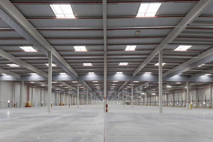 Almacén logístico propiedad de Inversiones Montepino.
