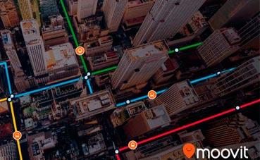 Moovit proporcionará sus datos a Azure Maps