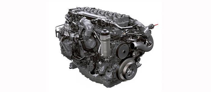 Scania presenta un nuevo motor de gas 13l y 410 CV de potencia