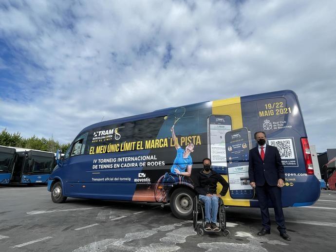 Transports Ciutat Comtal, partner de movilidad del Tram Barcelona Open