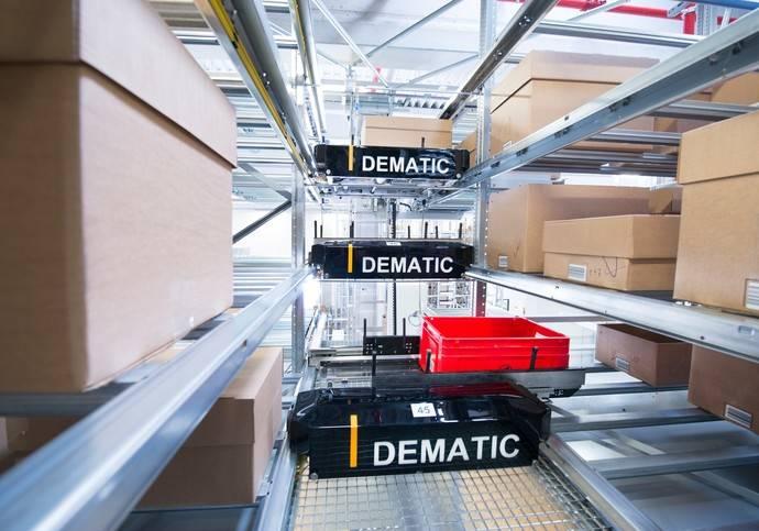 Dematic presenta una solución para manipular cargas de distintos tamaños