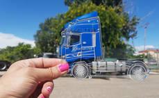 Renault Trucks regala una maqueta de la gama T