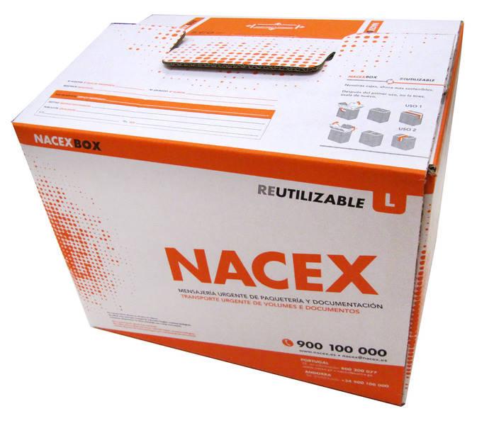 Nacex lleva a cabo la presentación de su nuevo embalaje reutilizable