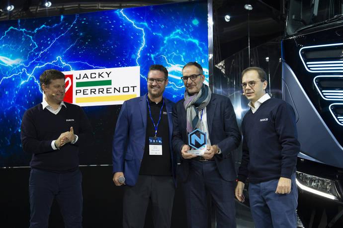 Jacky Perrenot es el Embajador Iveco de Transporte con Cero Emisiones