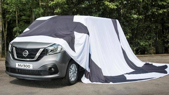 Nissan revela la primera imagen oficial de la furgoneta NV300