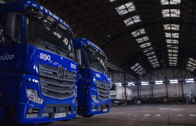 Grupo Mazo renueva su flota con nuevas tractoras