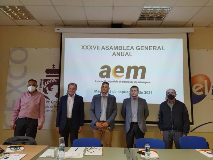 Asamblea General de AEM, nueva Junta Directiva, hasta 2025