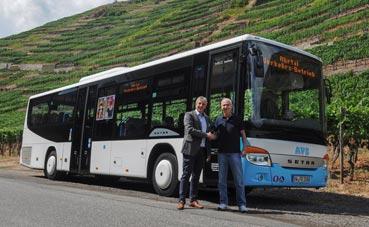 62 nuevos Setra para cubrir Alsacia y la Baja Sajonia