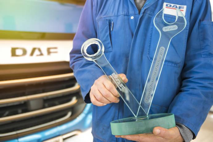 DAF organiza cuarta edición de Técnico Europeo del año