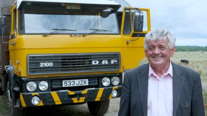 DAF busca el camión más antiguo en ruta