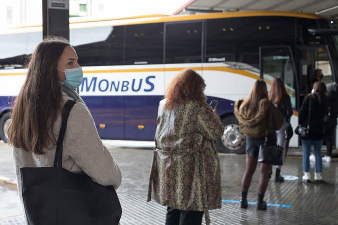 La compañía Monbus certifica su protocolo Covid, con Aenor