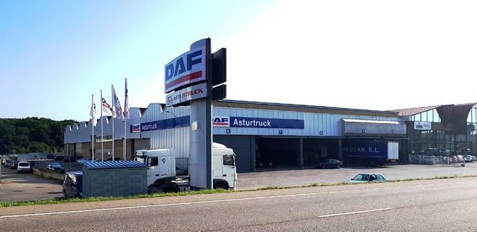 DAF ha ampliado su oferta de servicios en Asturias