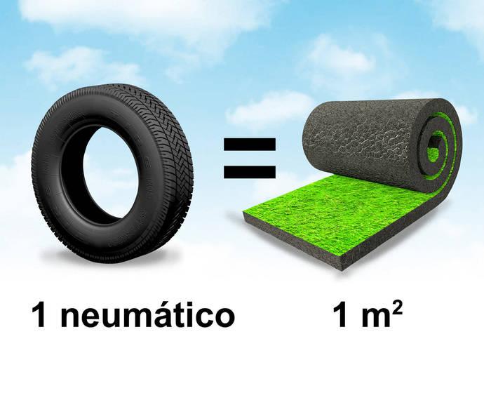 TNU crea campaña para informar de su trabajo con los neumáticos usados