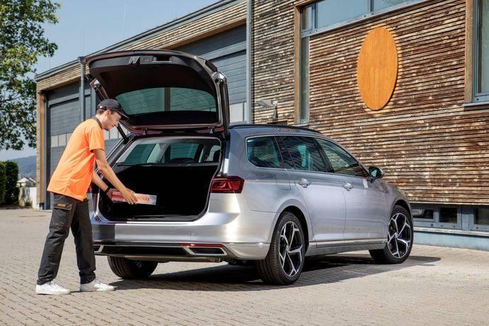Volkswagen estrena con Nacex entrega de paquetes en el maletero del coche