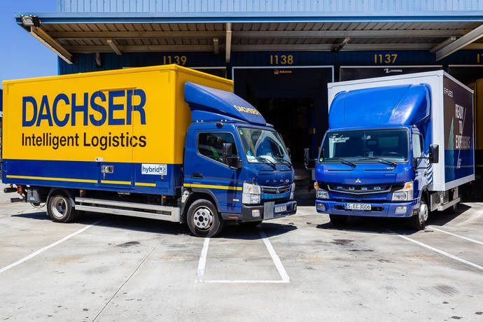 Dachser inicia las operaciones de prueba con un vehículo eléctrico