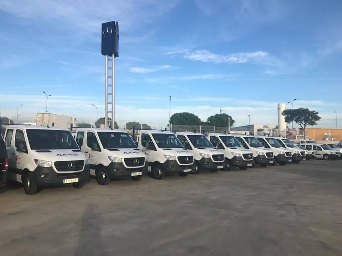Plainsa potencia su flota con 23 furgonetas Mercedes-Benz