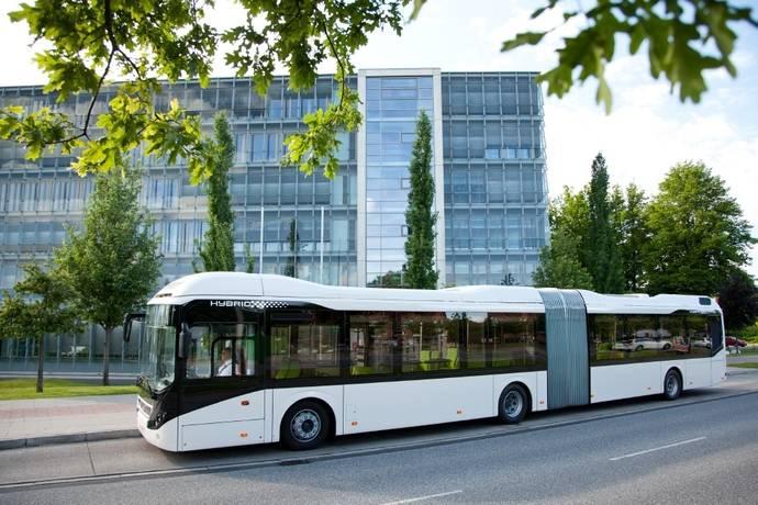 Volvo recibe un pedido de 12 autobuses híbridos para Cracovia