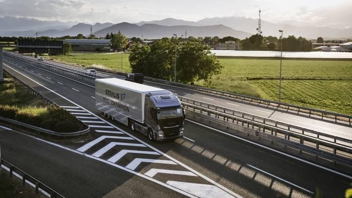 Iveco lanza Truck Station en varias rutas europeas de transporte