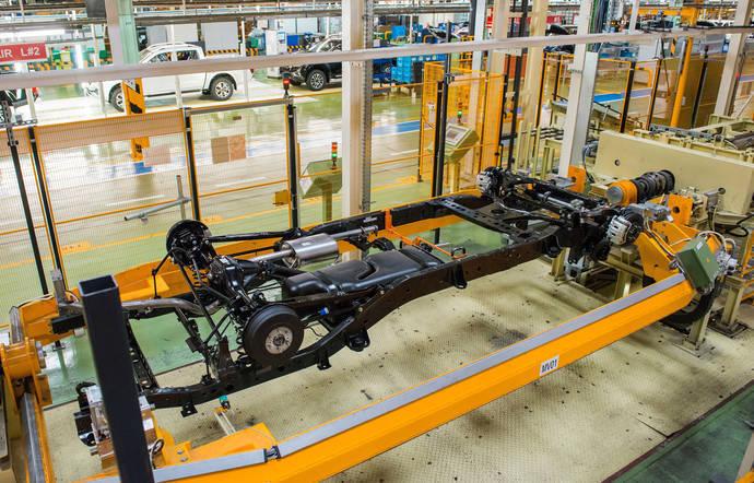 Nissan avanza en la automatización de su planta
