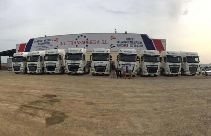 OT Transnoriega lleva a cabo la compra de 20 tractoras DAF XF 460 SSC