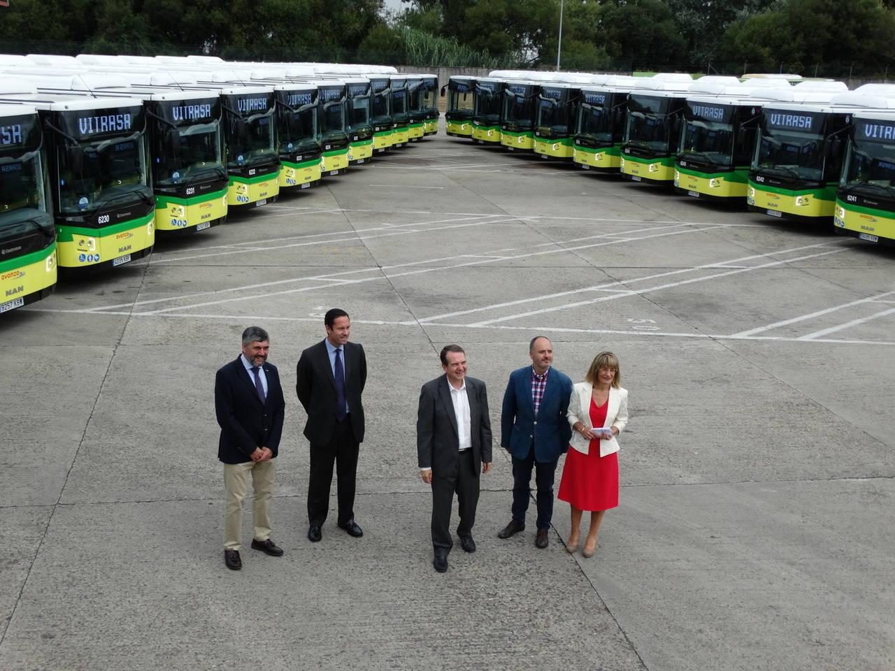 Vitrasa invierte más de 4,5 millones de euros en 24 nuevos autobuses