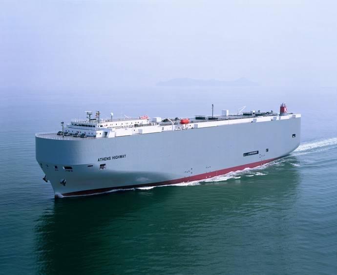 Nueva escala de 'K' Line Car Carrier en Santander, para su servicio RoRo